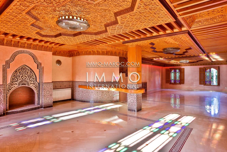 Immobilier maroc marrakech for Acheter maison marrakech