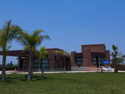 Villa d 39 architecte route ourika immomaroc for Acheter maison marrakech