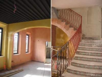 villa sur la route de fes et 9 km du centre de marrakech. Black Bedroom Furniture Sets. Home Design Ideas