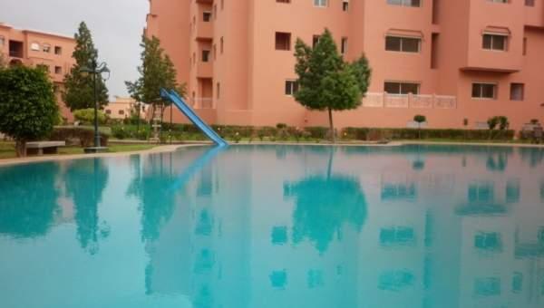 Appartement louer situ sur la route de casablanca for Appartement piscine marrakech
