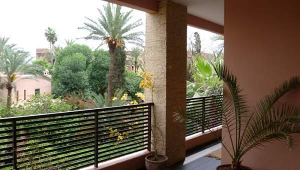 Magnifique appartement avec vue sur les jardins de - Residence les jardins de majorelle marrakech ...