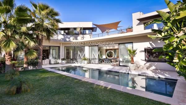Les Villa Luxe A Vendre A Lagos : Villa à vendre sur le golf d amelkis immomaroc