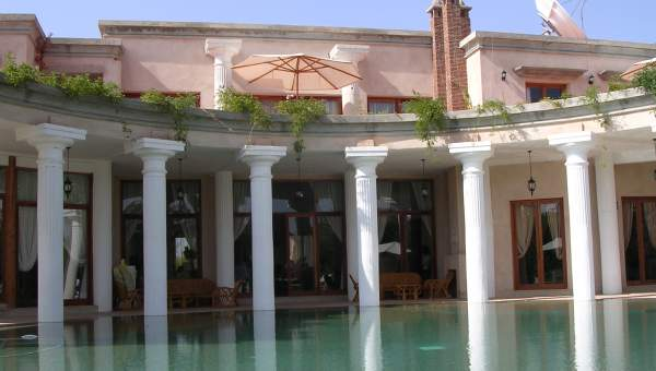 Villa de luxe au coeur de la palmeraie marrakech immomaroc for Acheter maison casablanca