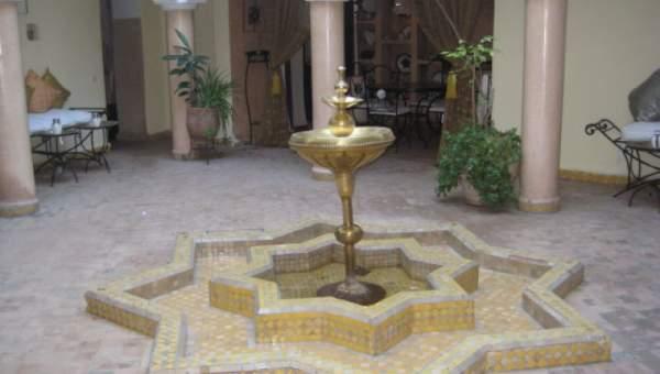 Riad maison d 39 h tes situ ksour marrakech medina immomaroc for Achat maison marrakech