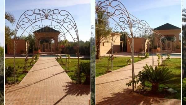 Magnifique propri t sur le golf d 39 amelkis immomaroc for Acheter maison marrakech