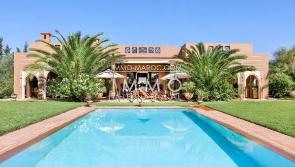 charmante villa marocaine immomaroc. Black Bedroom Furniture Sets. Home Design Ideas