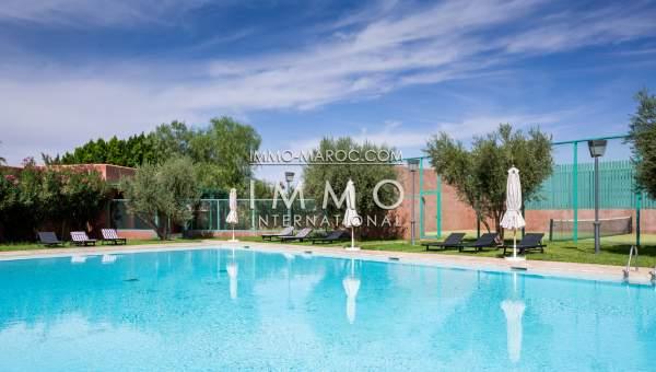 appartement rez de jardin avec piscine marrakech - Appartement Avec Piscine Marrakech