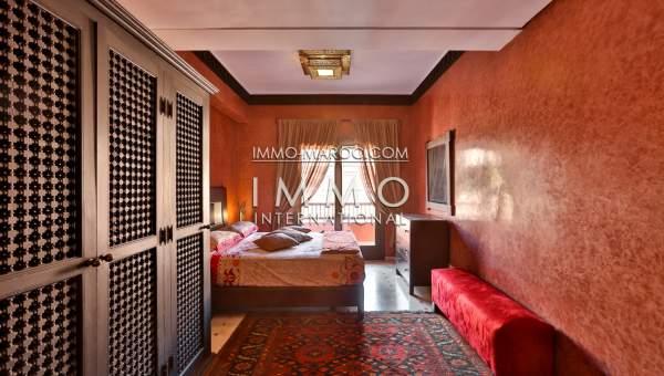 Appartement quatre chambres immomaroc for Appartement piscine marrakech