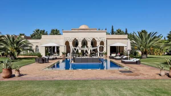 Somptueuse villa marocaine immomaroc for Acheter maison marrakech