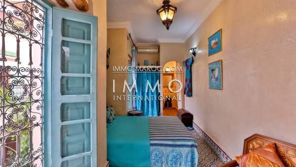 Riad maison d 39 h tes immomaroc for Achat maison marrakech