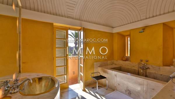 Demeure de charme situ e dans la palmeraie marrakech for Acheter maison marrakech