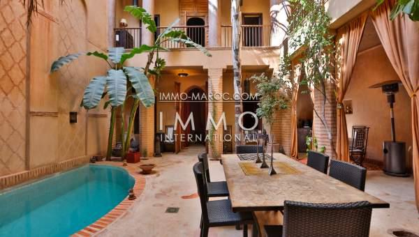 Riad vendre immomaroc for Riad essaouira avec piscine