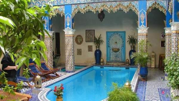Riad maison d 39 h tes vendre immomaroc for Riad medina marrakech avec piscine