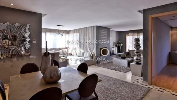 Appartement programme neuf contemporain marrakech immomaroc for Appartement contemporain