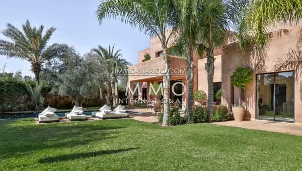 Vente maison Contemporain Marrakech Golfs Amelkis