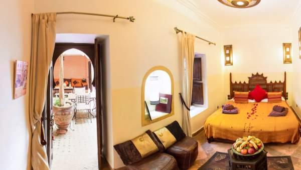 Vente riad Marocain épuré Marrakech moins de 10 minutes de la place