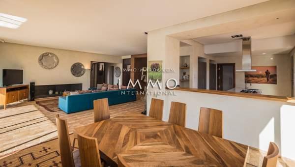 Vente villa Moderne luxe Marrakech Golfs