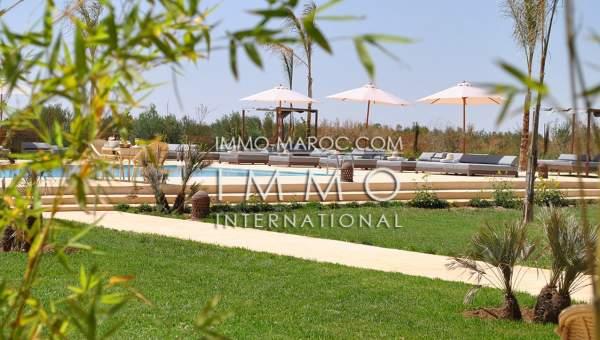 acheter maison Marocain épuré prestige a vendre Marrakech Extérieur Route Amizmiz
