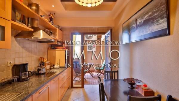 appartement louer Contemporain Marrakech Centre ville