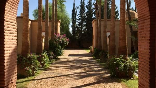 Maison à louer luxe Marrakech Extérieur