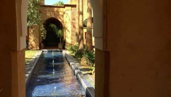 Maison à louer Marrakech Extérieur