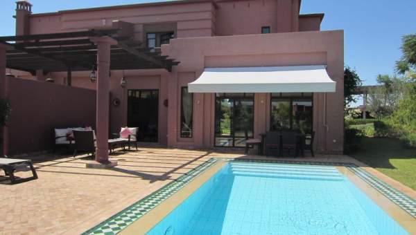 location villa meubl e piscine jardin immomaroc. Black Bedroom Furniture Sets. Home Design Ideas