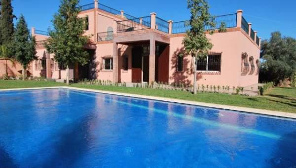 Location maison Marocain épuré Marrakech Extérieur Route Sidi Abdellah Ghiat