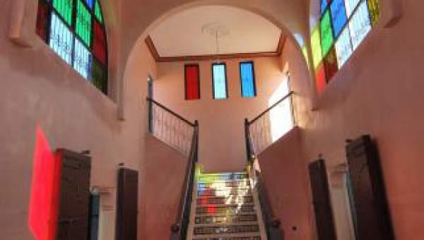 Villa à louer Marocain épuré Marrakech Extérieur Route Sidi Abdellah Ghiat