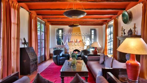 Vente maison Marocain épuré luxe Marrakech Palmeraie