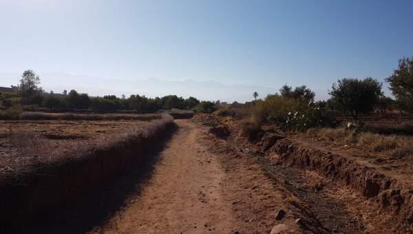 Terrain à vendre Terrain villa Marrakech Extérieur Route Sidi Abdellah Ghiat