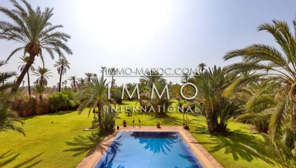 Maison à vendre Marocain Marrakech Palmeraie