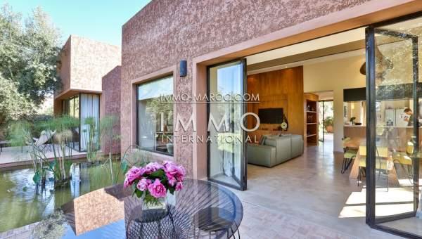 Villa contemporaine marrakech