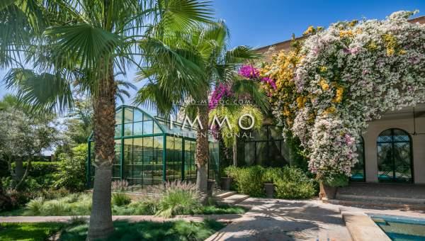 acheter maison haut de gamme Marrakech Extérieur Route Amizmiz