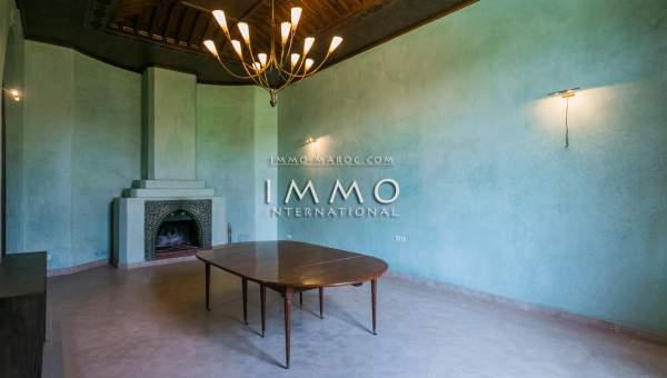 Maison à vendre immobilier de luxe marrakech Marrakech Extérieur Route Amizmiz