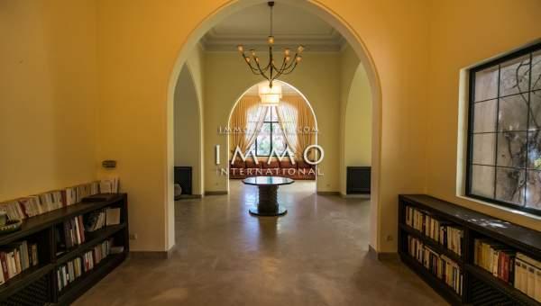 villa vente haut de gamme Marrakech Extérieur Route Amizmiz