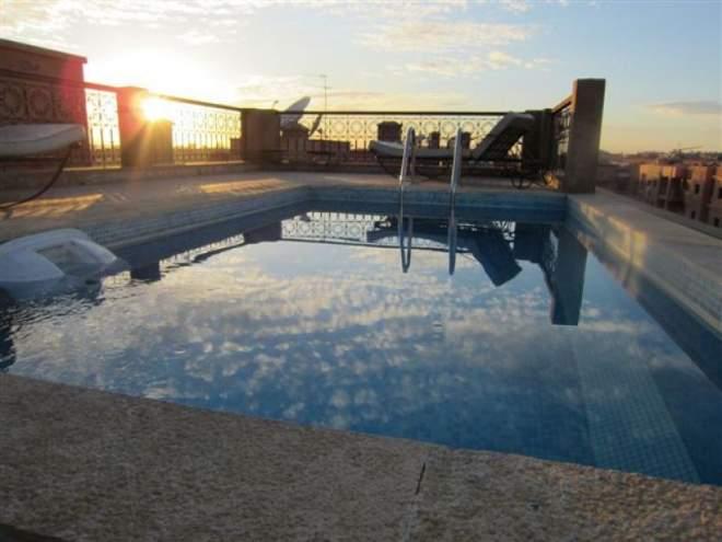 Immomaroc for Appartement piscine marrakech