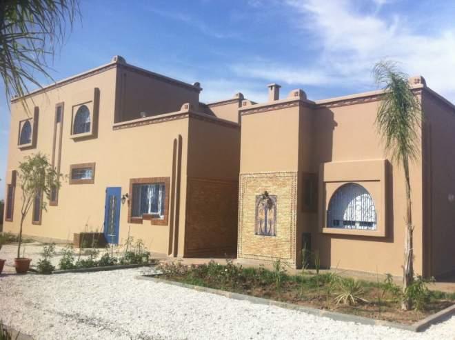 Vente maison marrakech route fes immomaroc for Achat maison marrakech
