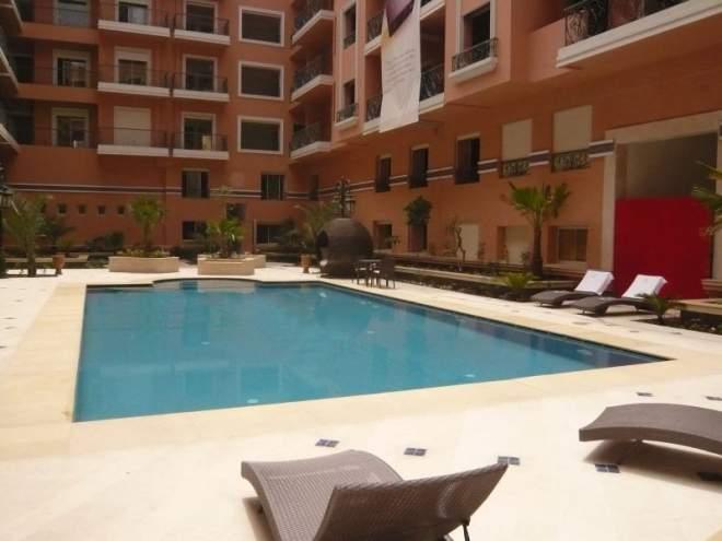 vente appartement marrakech maroc duplex immomaroc. Black Bedroom Furniture Sets. Home Design Ideas