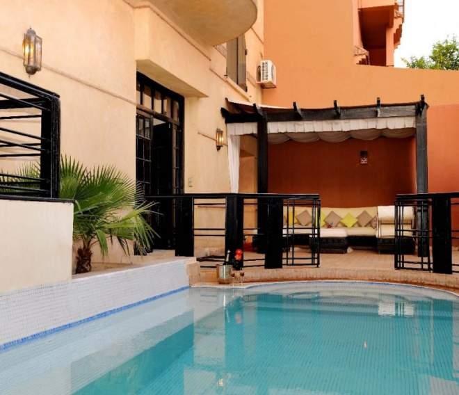 Achat villa centre ville guleiz marrakech immomaroc for Achat maison maroc