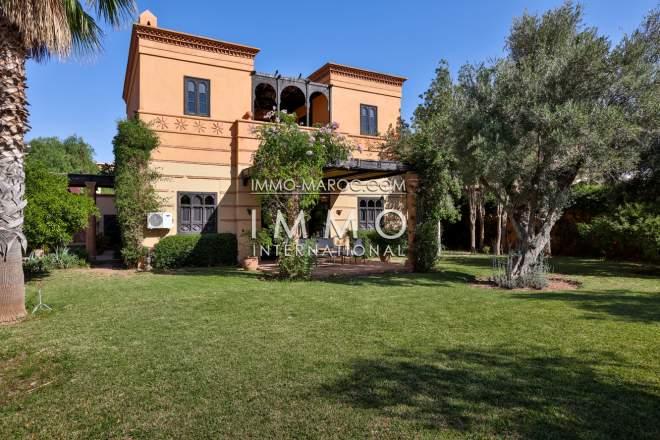Villa a vendre golf amelkis marrakech immomaroc for Acheter maison marrakech