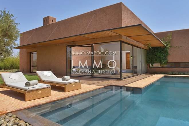 villa de luxe a vendre dans un programme neuf immomaroc. Black Bedroom Furniture Sets. Home Design Ideas