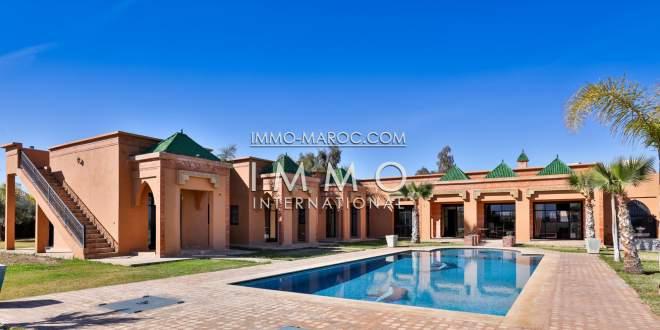 Vente villa route ourika marrakech for Acheter maison marrakech