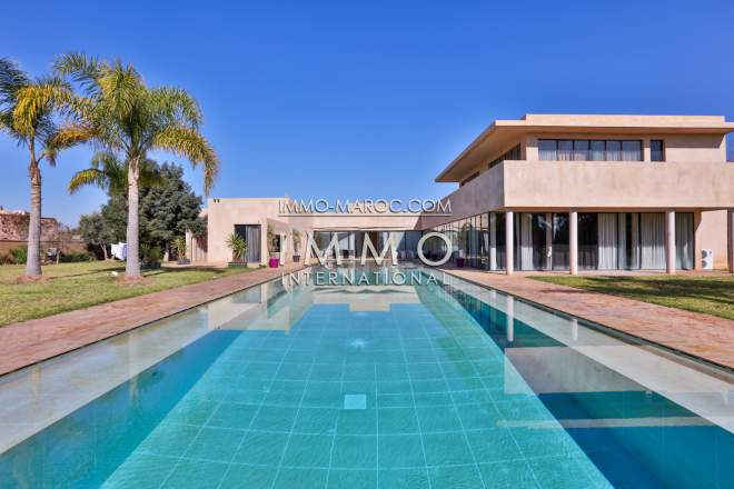 Vente villa palmeraie palmariva immomaroc for Acheter maison marrakech