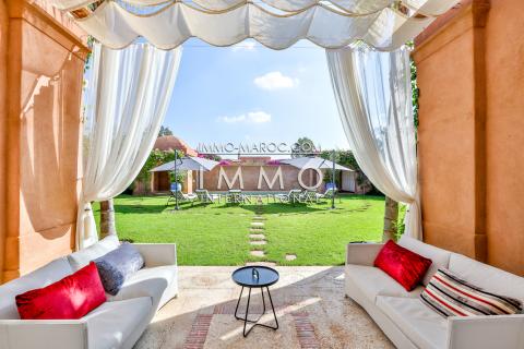Vente villa Marocain Marrakech Extérieur