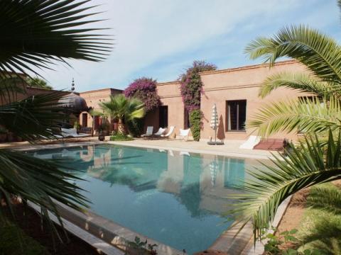 Maison à vendre traditionnel Marrakech Extérieur Route Fes