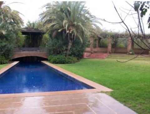 Vente villa demeure de prestige Marrakech Palmeraie