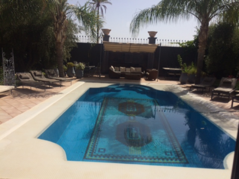 Location villa Contemporain Marrakech Golfs