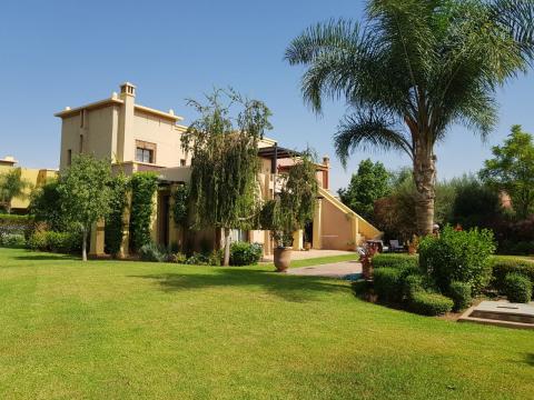 Villa à louer Marocain épuré Marrakech Extérieur