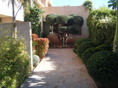 Location maison Moderne Marrakech Golfs
