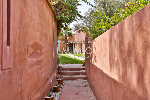 Location maison Marocain épuré Marrakech Palmeraie Bab Atlas